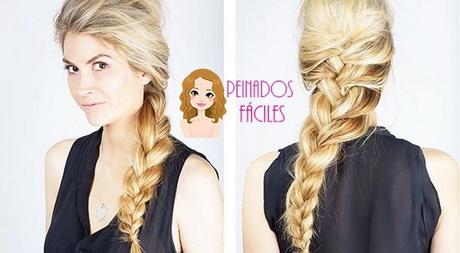Formas de moda también peinados trenzas pelo largo Fotos de estilo de color de pelo - Peinados trenzas cabello largo
