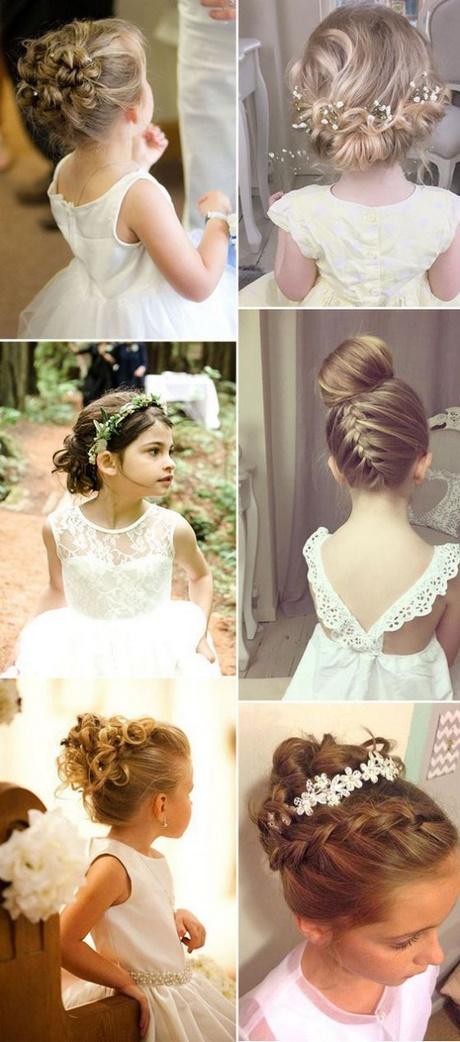 Elegante peinados para niñas para boda Imagen De Cortes De Pelo Tendencias - Peinados elegantes para niña