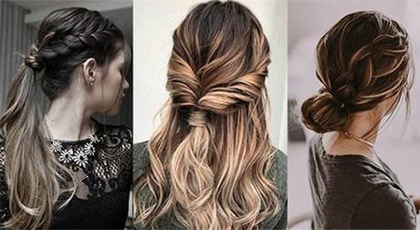 Miradas ganadoras con peinados super faciles Fotos de cortes de pelo Ideas - Peinados lindos y sencillos