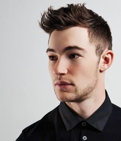 Perfecto peinados hombre pelo medio Fotos de tendencias de color de pelo - Peinados para cabello mediano hombres
