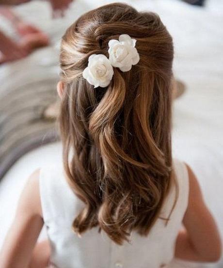 Simple y con estilo peinados para niñas boda Fotos de las tendencias de color de pelo - Peinados sencillos para niña para fiesta