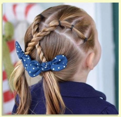 Creativo peinados faciles niñas Colección De Cortes De Pelo Tendencias - Peinados sencillos para niña