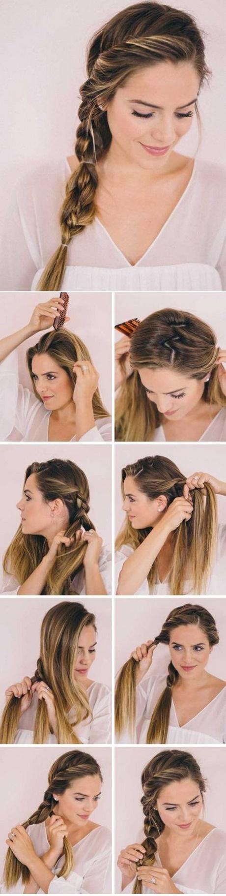 Formas de moda también peinados sencillos pelo largo Colección De Cortes De Pelo Consejos - Peinados sencillos y rapidos para cabello largo