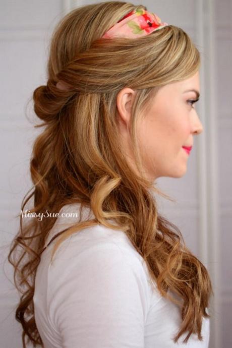 Diversión y halagos peinados pelo largo faciles Fotos de tutoriales de color de pelo - Peinados simples para pelo largo