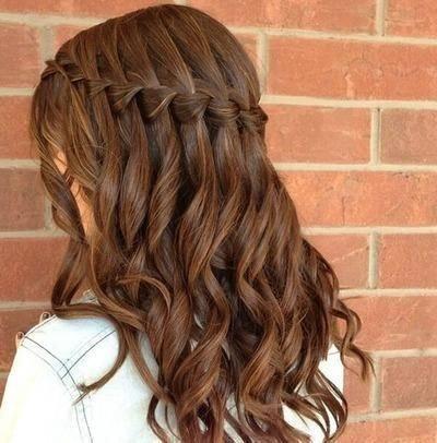 Lindo y sin esfuerzo videos de peinados Imagen de cortes de pelo tutoriales - Peinado para promocion de secundaria
