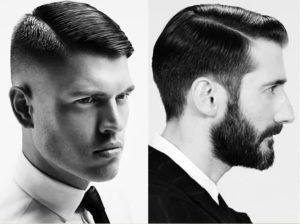 Bonito y sencillo peinados con tupe hombre Imagen de cortes de pelo consejos - Peinados con raya al costado hombres