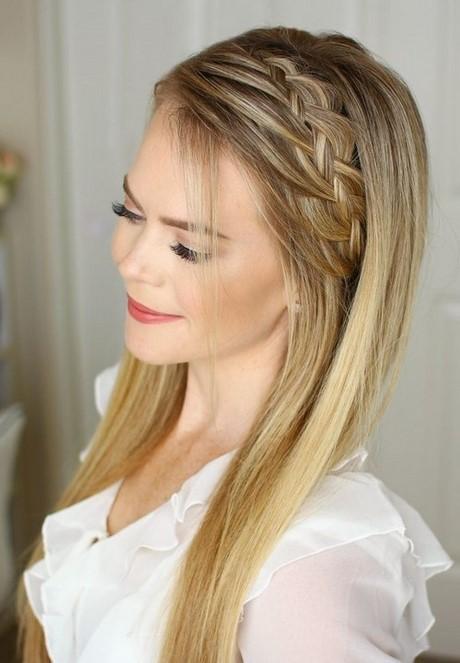 Ideas de estilo para peinados novia pelo suelto Colección De Cortes De Pelo Tendencias - Peinados de fiesta pelo suelto