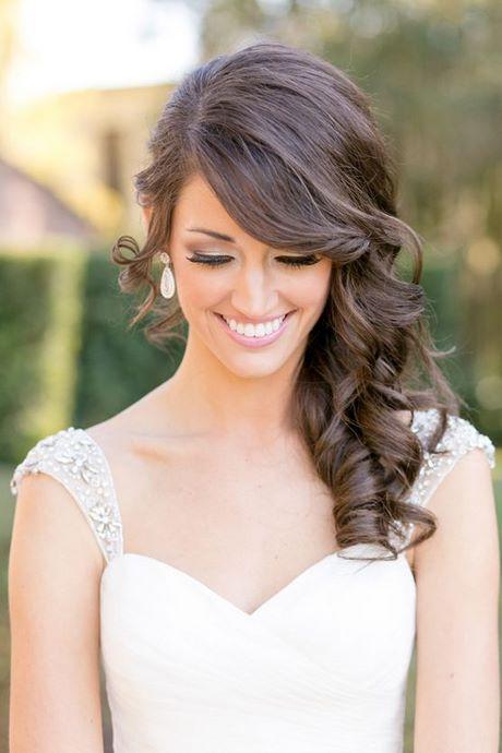Elegante peinados hacia un lado Fotos de tutoriales de color de pelo - Peinados de novia hacia un lado