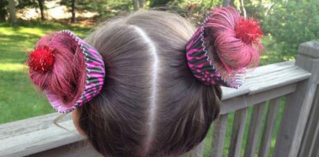 Bonito y cómodo peinados divertidos para niña carnaval Galería de cortes de pelo Consejos - Peinados divertidos