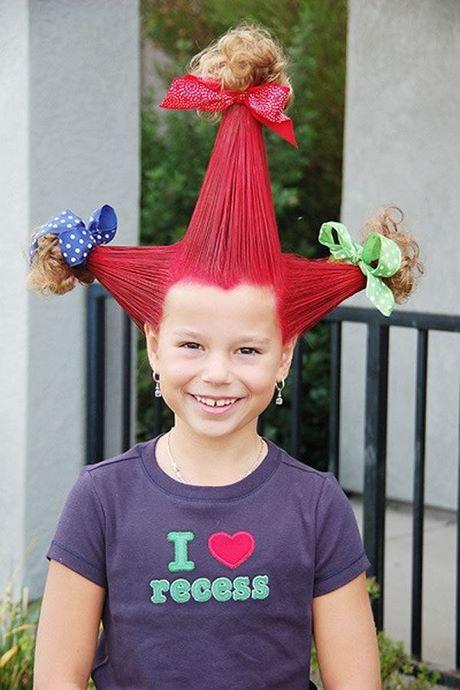 Creativo peinados divertidos Imagen De Tendencias De Color De Pelo - Peinados divertidos