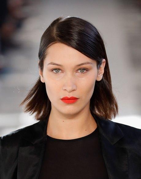 Diferentes versiones peinados hacia un lado Imagen de ideas de color de pelo - Peinados pelo largo a un lado