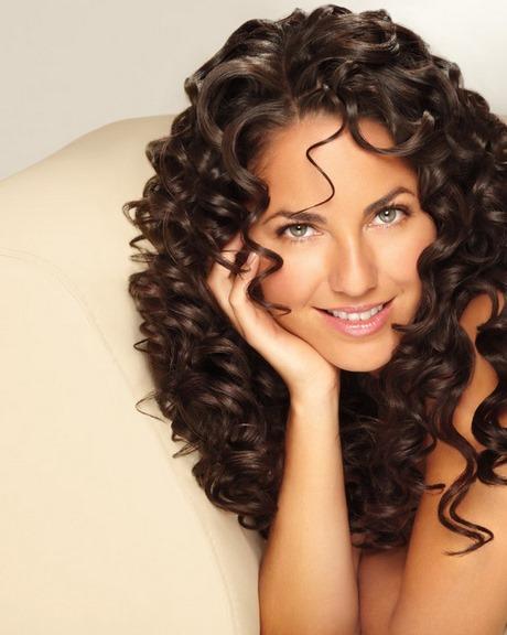Lo más universal peinados pelo rizado largo Fotos de cortes de pelo tendencias - Peinados pelo suelto rizado