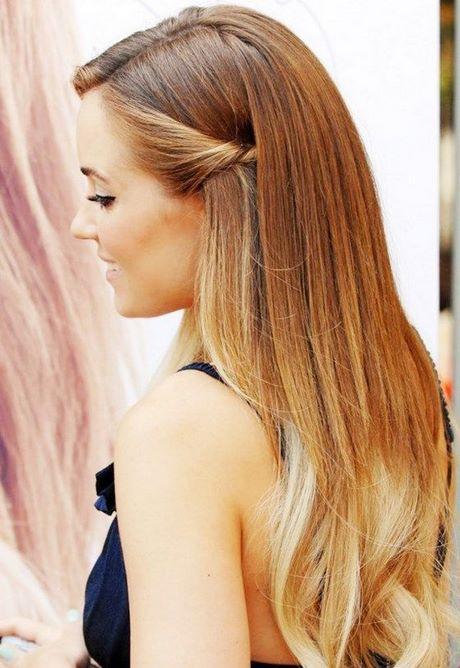 Más cautivador peinados sencillos pelo largo Colección De Tutoriales De Color De Pelo - Peinados sencillos para cabello largo y suelto