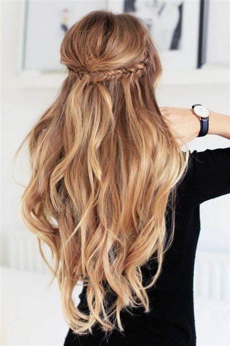 Especial peinados pelo largo faciles Imagen de cortes de pelo Ideas - Pelo largo suelto peinados