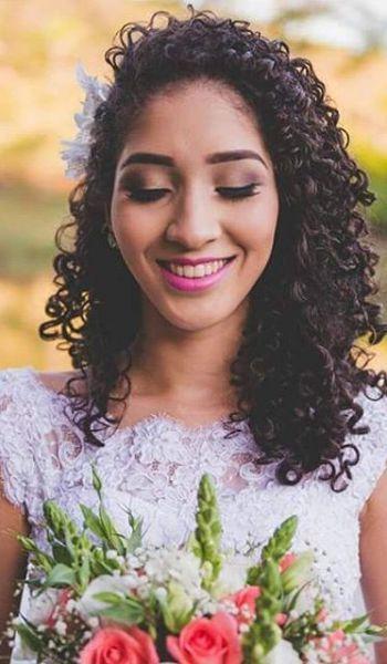 Varios peinados peinados novia pelo rizado Imagen De Tendencias De Color De Pelo - Pelo rizado de lado